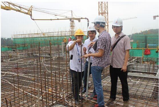 顶岗实习学生风采-建筑工程学院